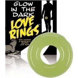 Lot 3 Cockrings Fluorescents