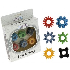 Jelly Cockrings 6 Pack - Multi-Colours
