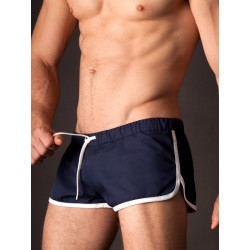 Gym Short Barcode Berlin Navy-Blanc