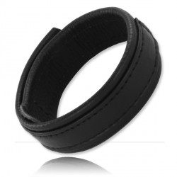 Leather Cockring Velcro