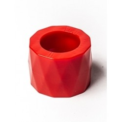 Cockring & Ballstretcher Tight Ball Screwer Red Mr B