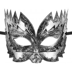 Brown Silver Mask Don Giovanni Maskarade