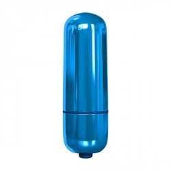Vibrator Pocket Bullet Metallic Blue