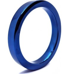 COCKRING STAINLESS STEEL BLUE BOY