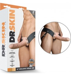 HOLLOW STRAP-ON DILDO DR SKIN