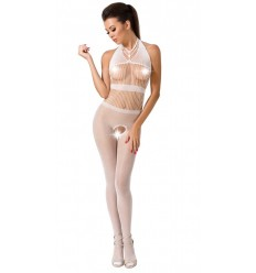 BODYSTOCKING SEXY OPEN WHITE BS048
