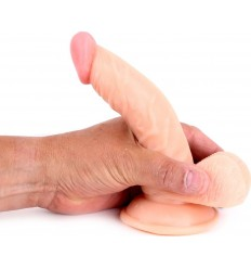 Cox Curved Dildo 2 Flesh Suction Cup 16 x 4 cm