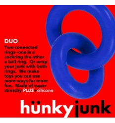 Hünkyjunk Cock & Ball Rings Duo Linked