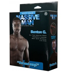 Inflatable Male Doll Benton G