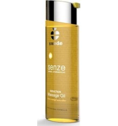 Huile de Massage Senze Herbal Aphrodisiac Seduction Orange Lavande Clou de Girofle 75 ml