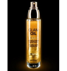 Dry glittering oil body and hair glam oil