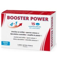 Booster Power Erection et Virilité Sperme Volume +