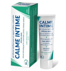 Anal DESENSITIZING Gel Lubricant Silicone CALME INTIME