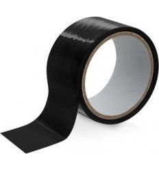 Bondage Tape Black 15 meters