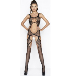 VERY OPEN & CROTCHLESS BODYSTOCKING BLACK BS039