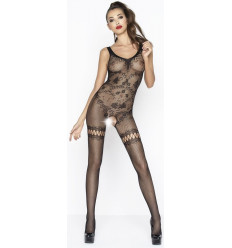 Sexy Fishnet Crotchless Bodystocking Black BS045